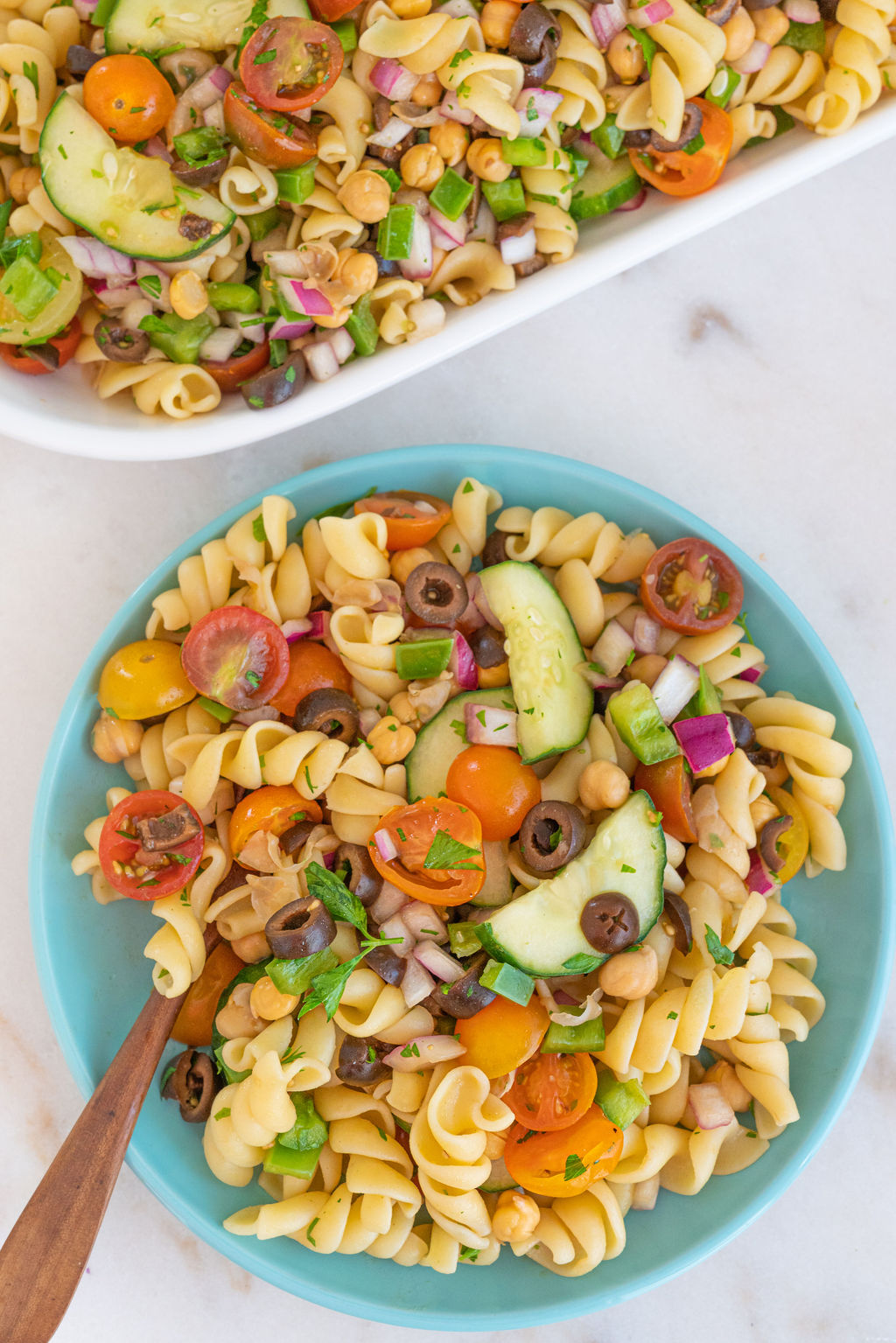 The Perfect Pasta Salad