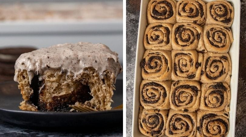 Oreo Cinnamon Rolls Recipe - Dinner, then Dessert
