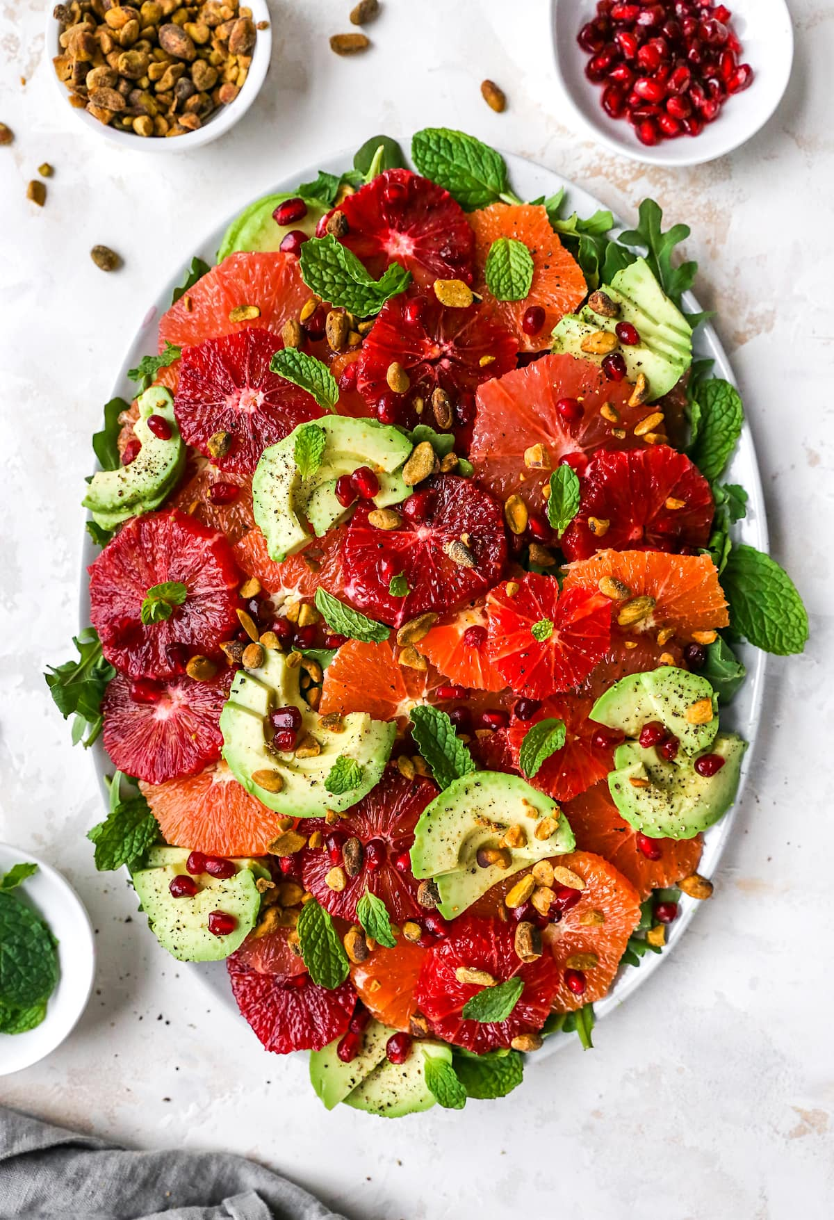 Citrus Salad {Simple & Refreshing} - Two Peas & Their Pod