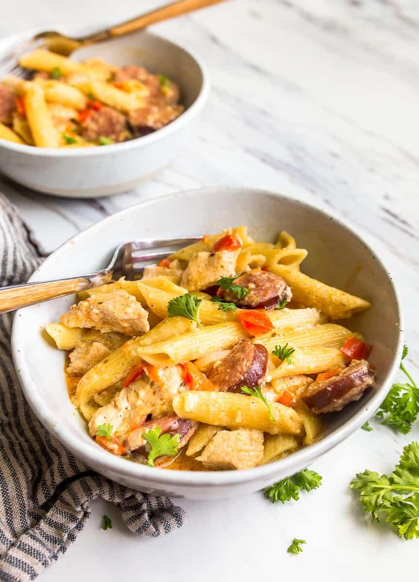Instant Pot Cajun Chicken Pasta