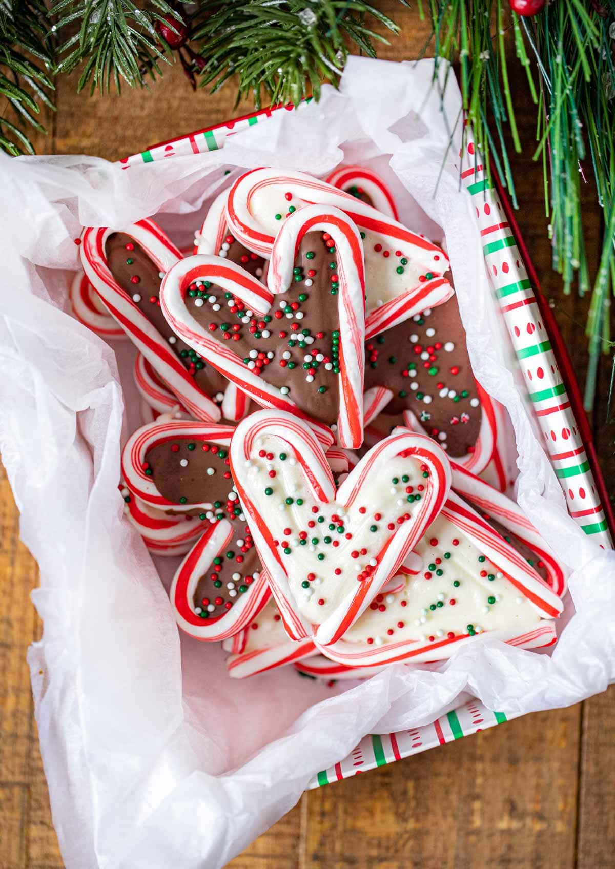 Chocolate Peppermint Hearts Recipe - Dinner, then Dessert