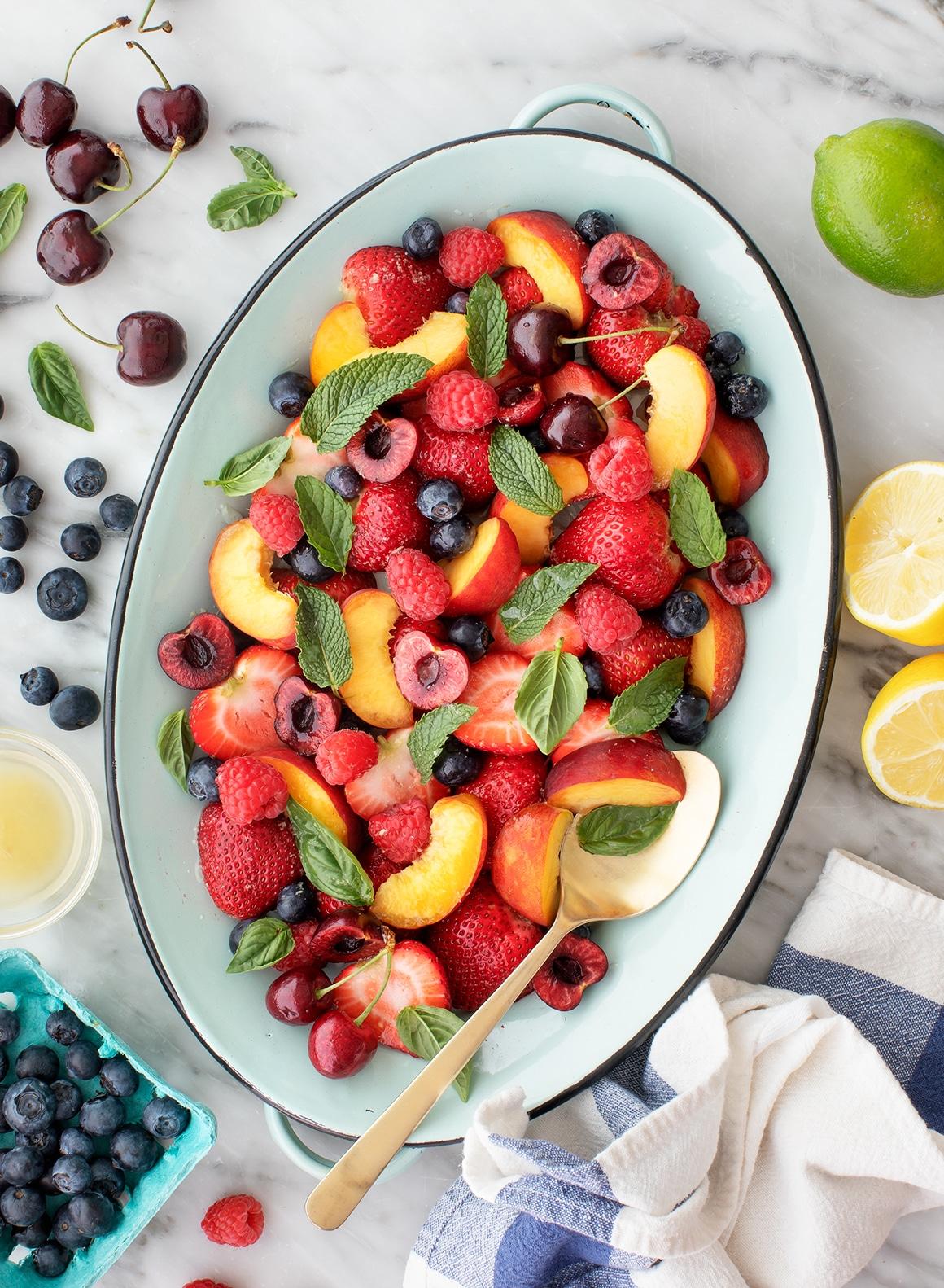 Summer Fruit Salad Recipe - Love and Lemons