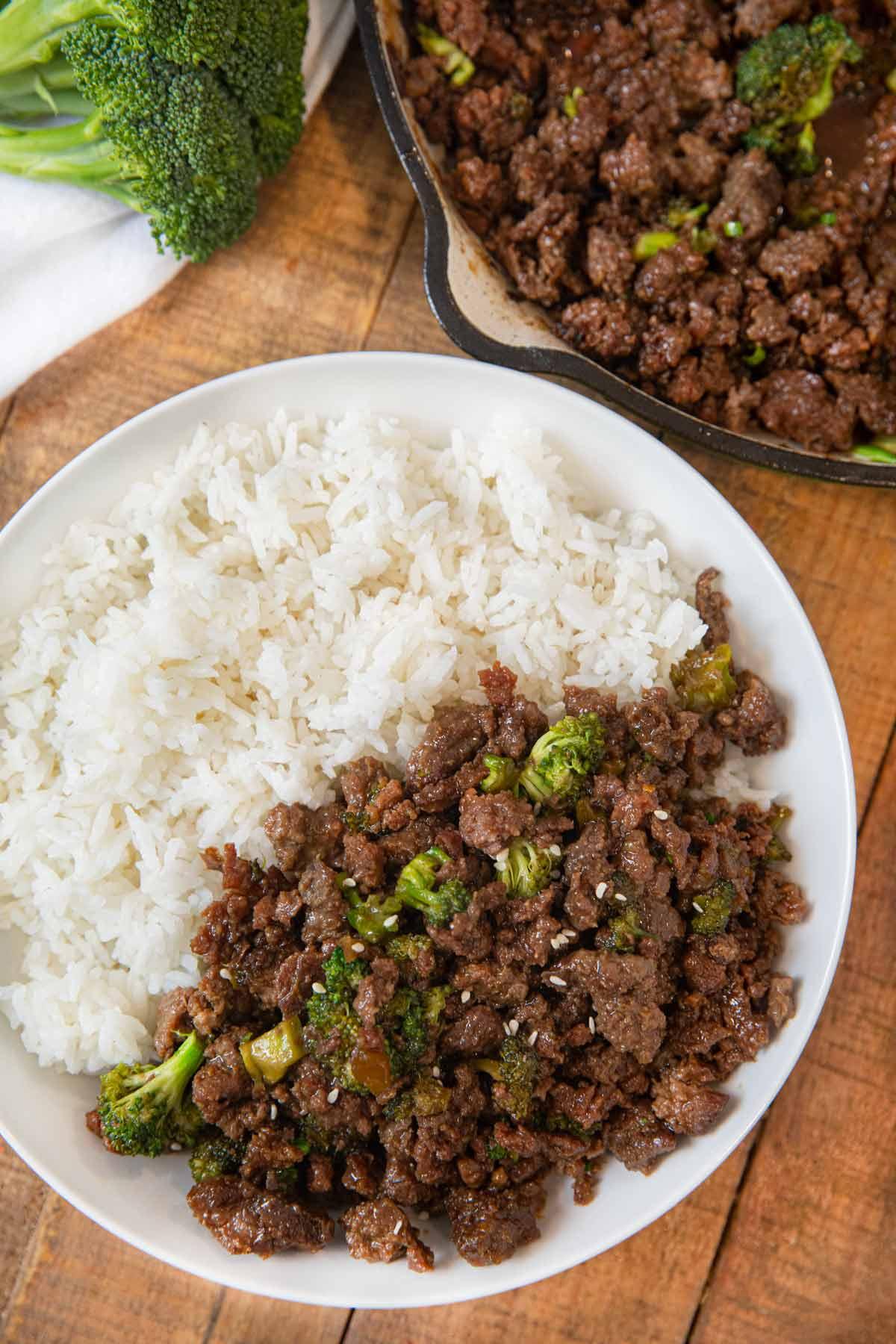 Ground Beef and Broccoli Recipe - Dinner, then Dessert