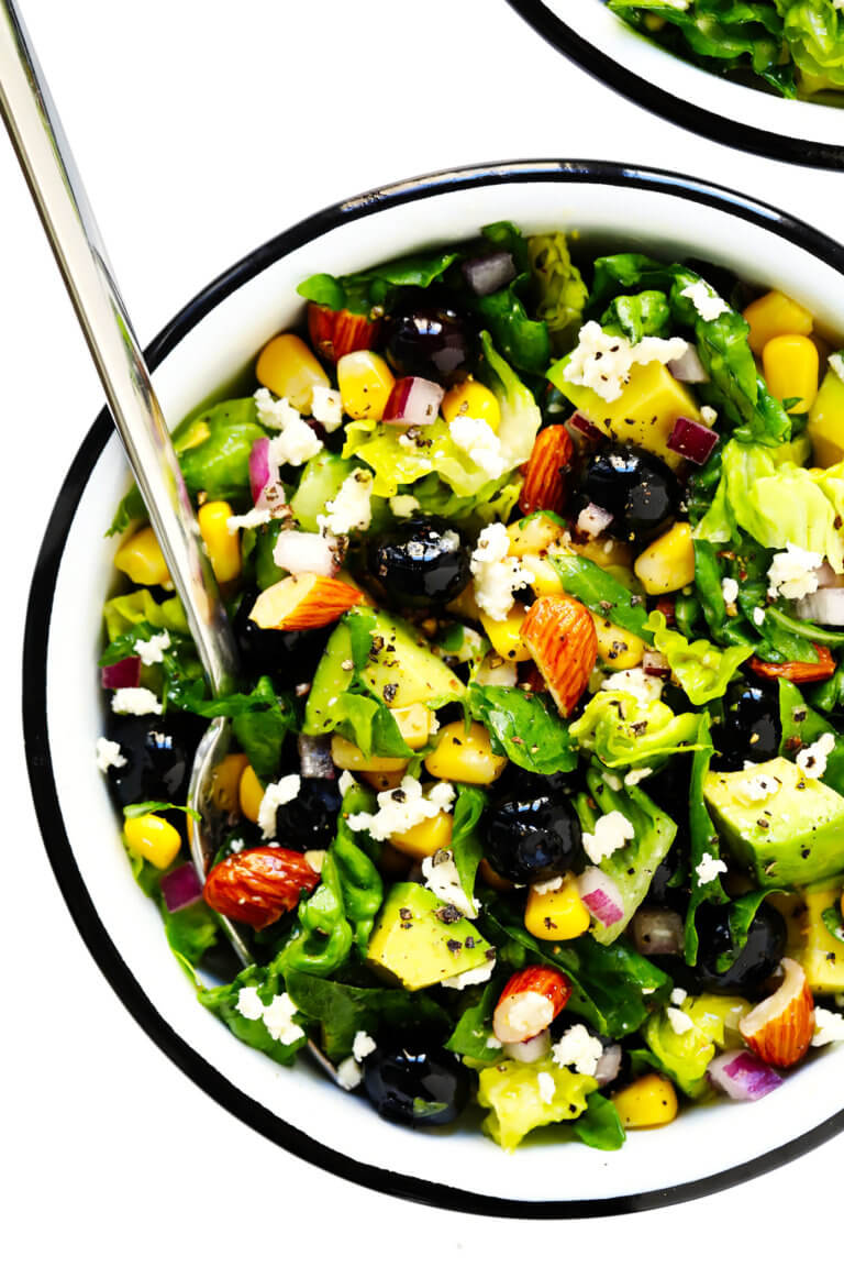 Blueberry, Corn and Avocado Chopped Salad | Gimme Some Oven
