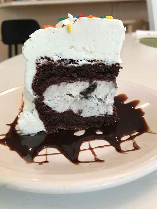 Six Inch Ice Cream Cake - Cookie Madness