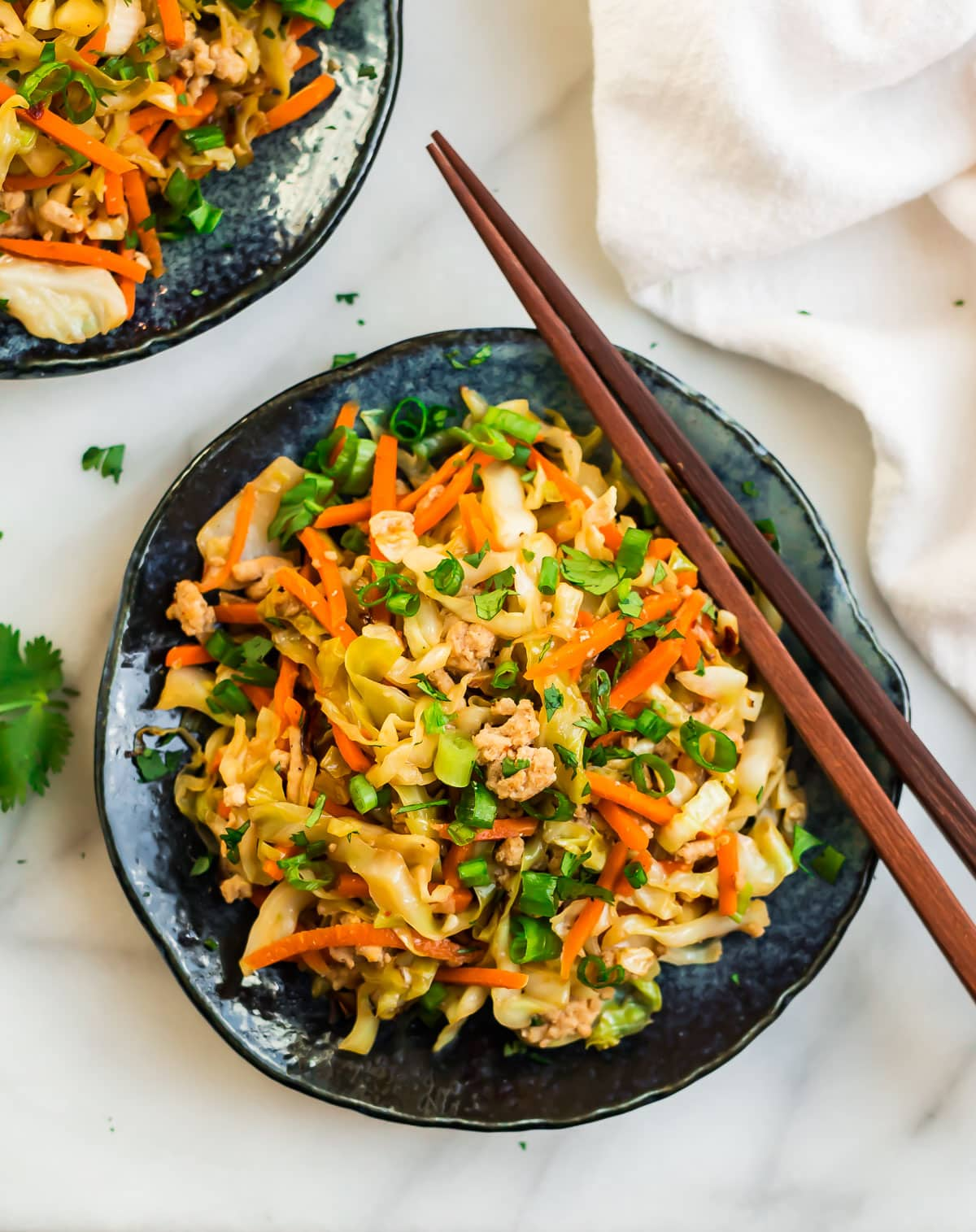 Cabbage Stir Fry {Healthy Low Carb Recipe}  WellPlated.com