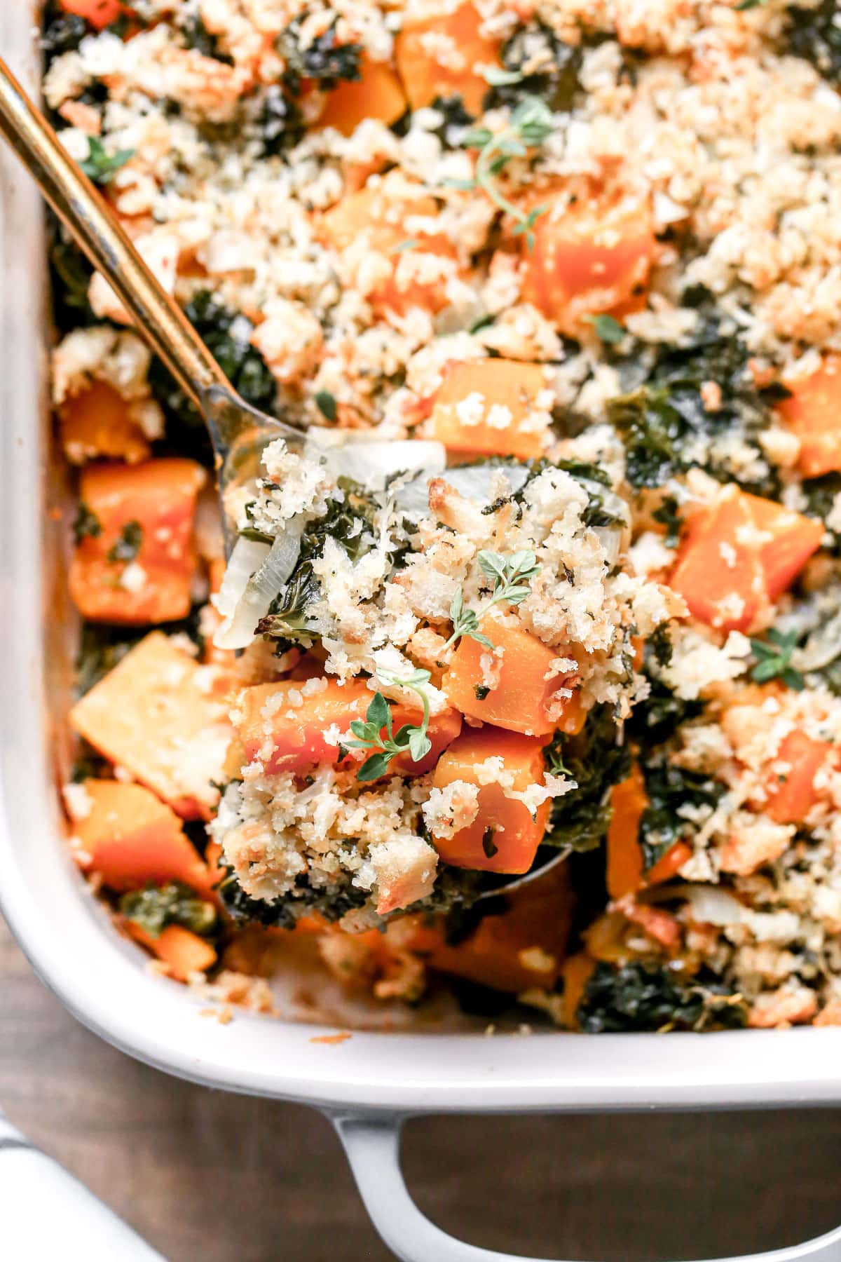 Butternut Squash Casserole with Parmesan Topping  WellPlated.com