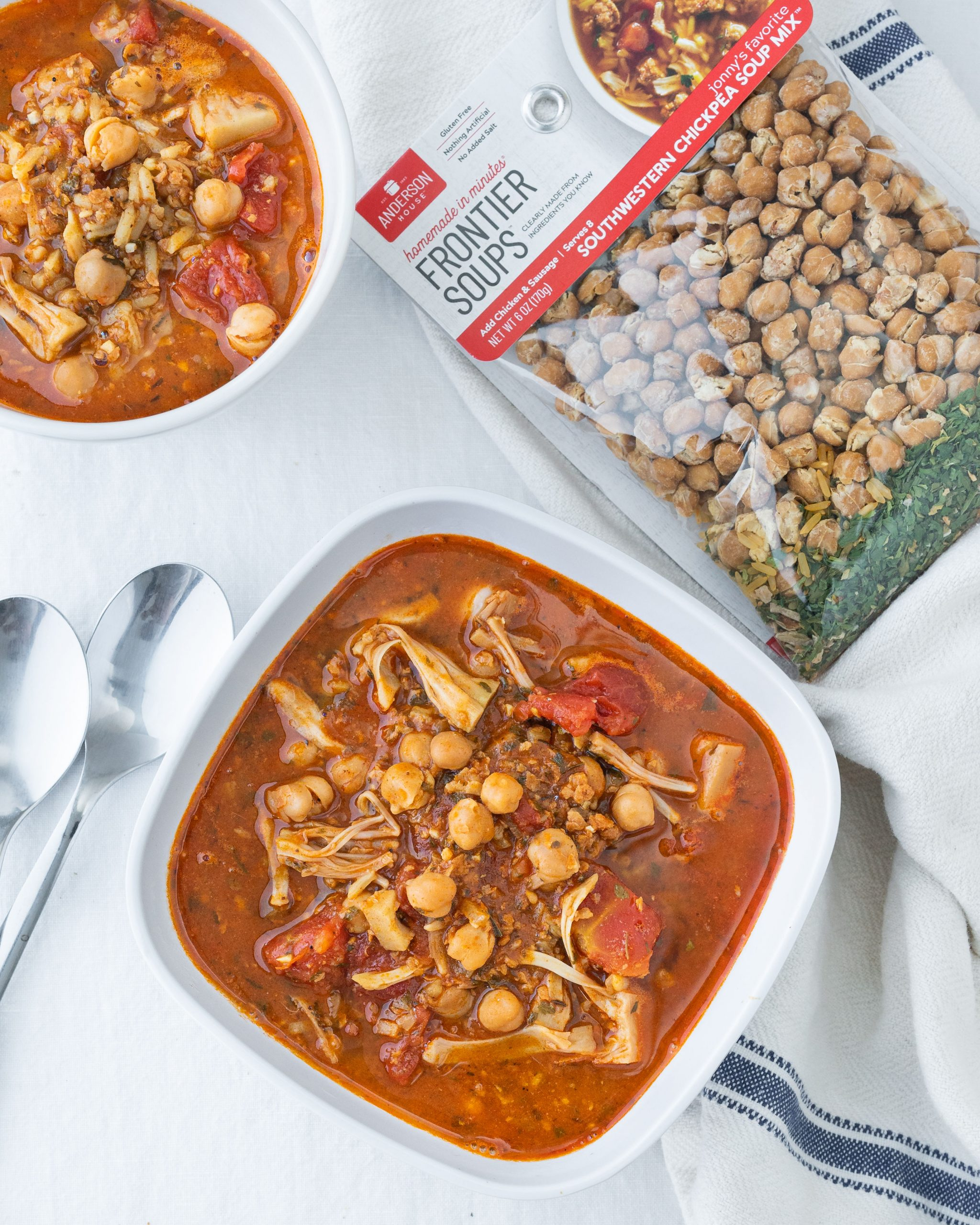 Frontier Soups Southwestern Chickpea Soup