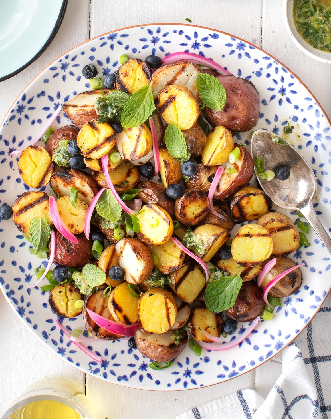 Grilled Potatoes Recipe - Love and Lemons