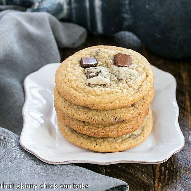 Ad Hoc Chocolate Chunk Cookies - That Skinny Chick Can Bake