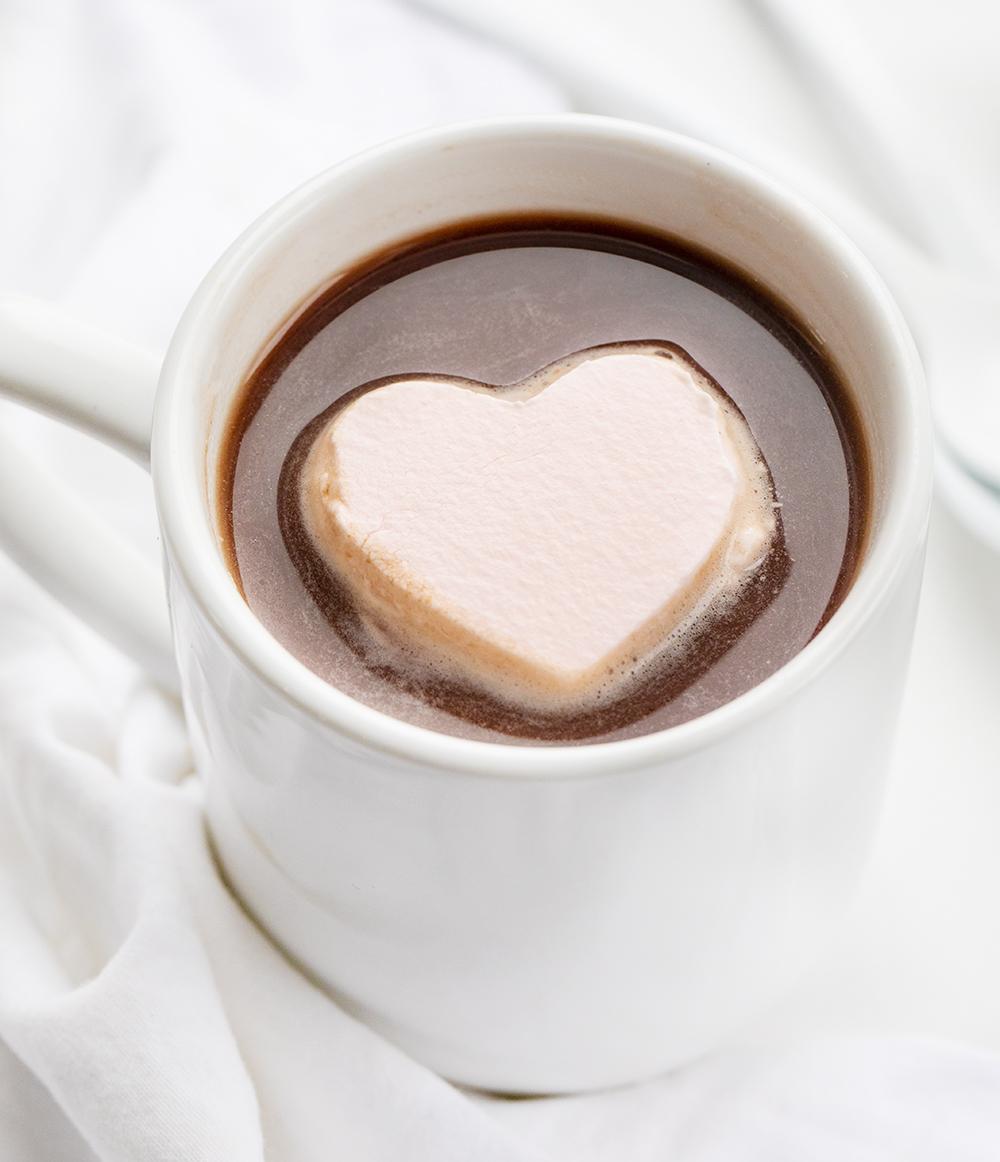 Whipped Cream Hearts | i am baker
