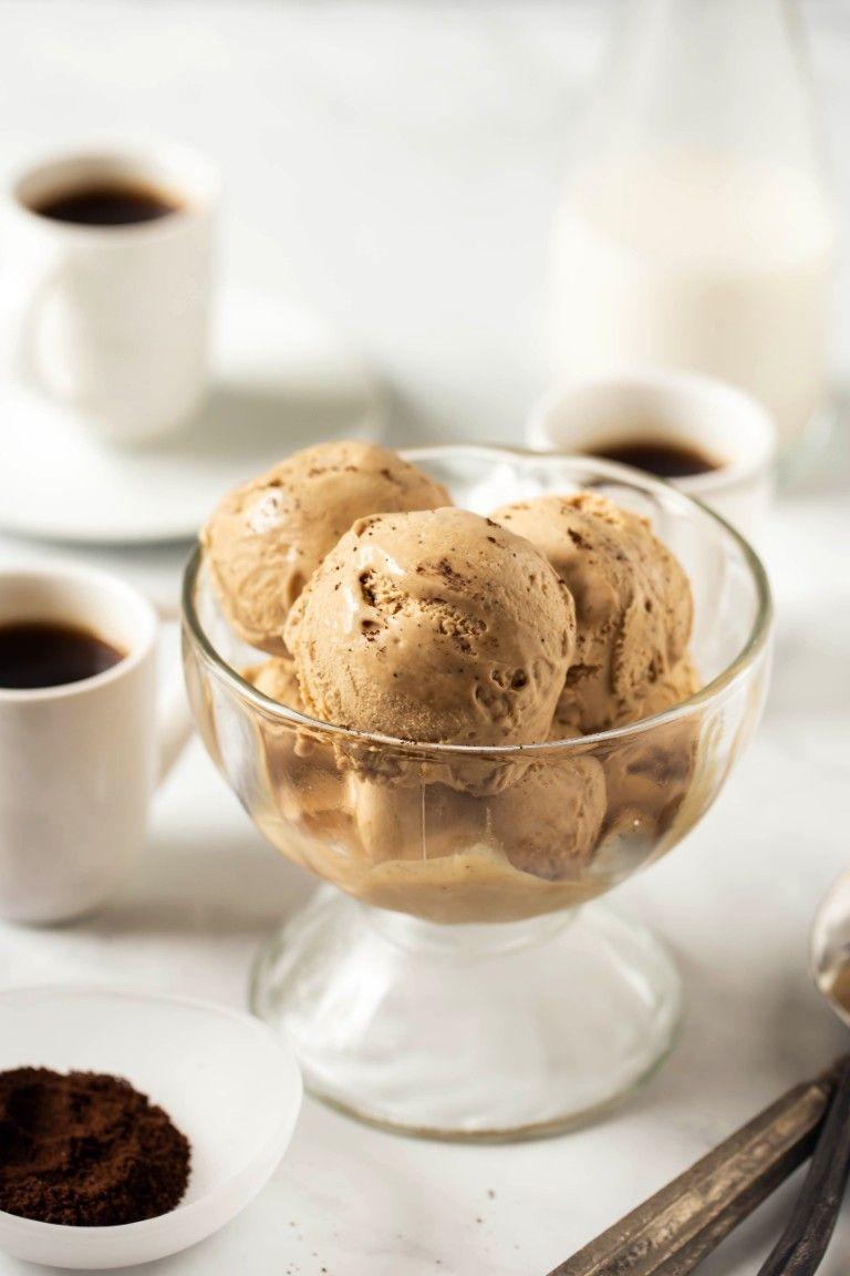 Vegan Butterscotch Ice Cream