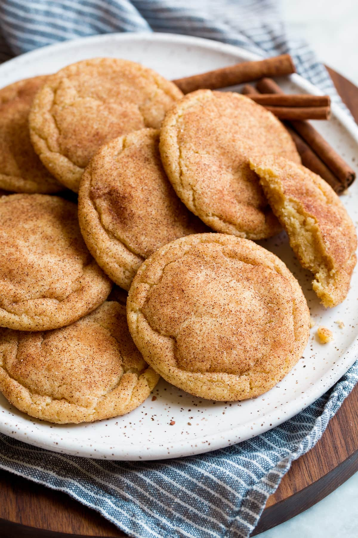 Snickerdoodle Cookies Recipe {Soft and Chewy!} - Cooking Classy