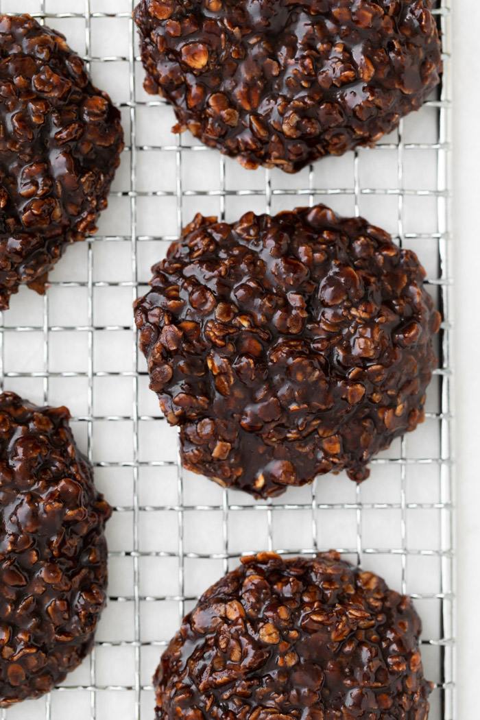 Vegan No Bake Cookies