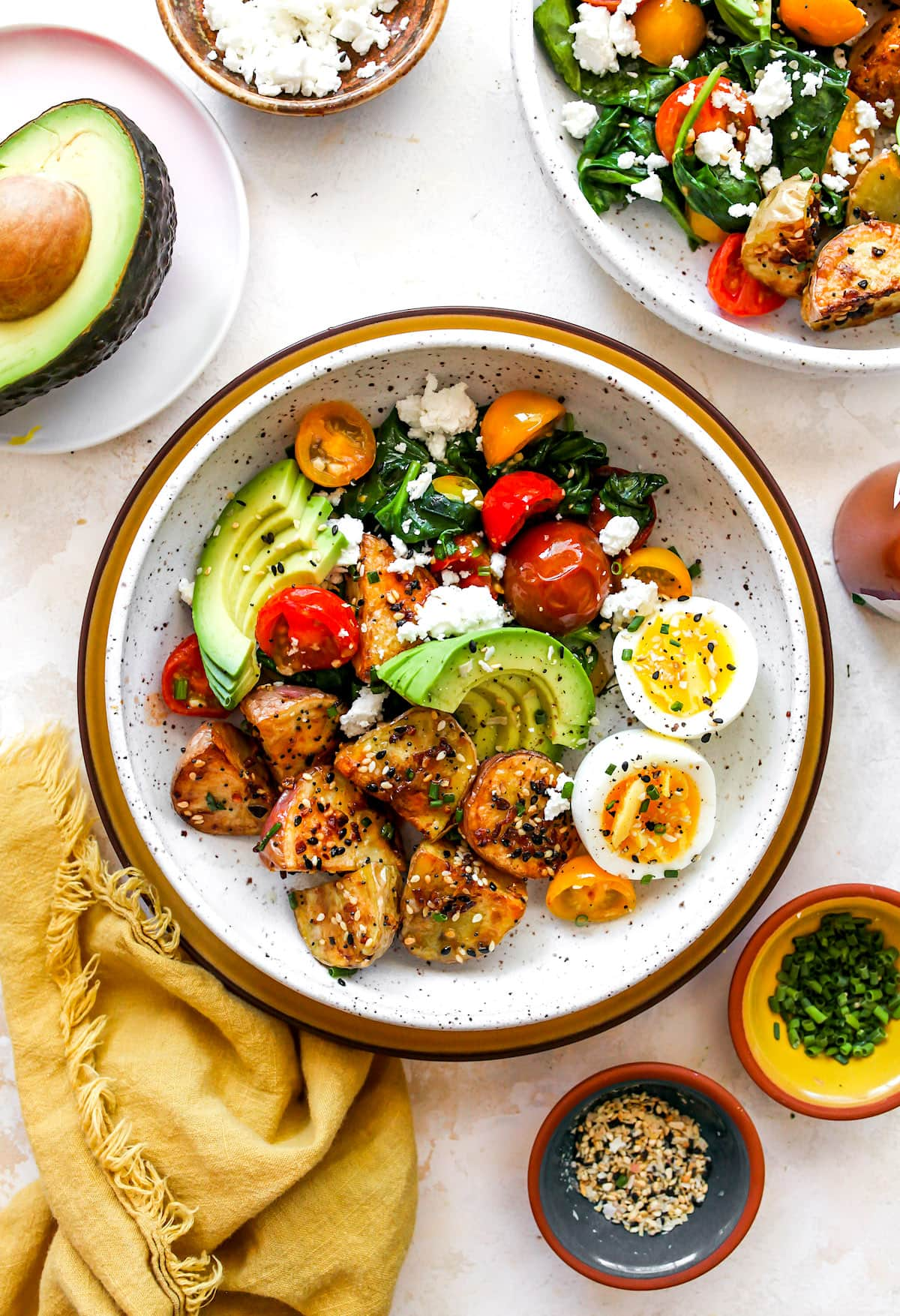 Savory Breakfast Bowl {Healthy} - Two Peas & Their Pod
