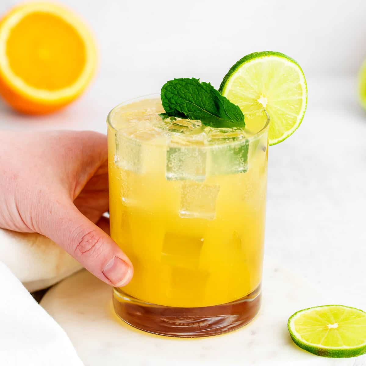 Refreshing Virgin Margarita (Non Alcoholic) - Fit Foodie Finds