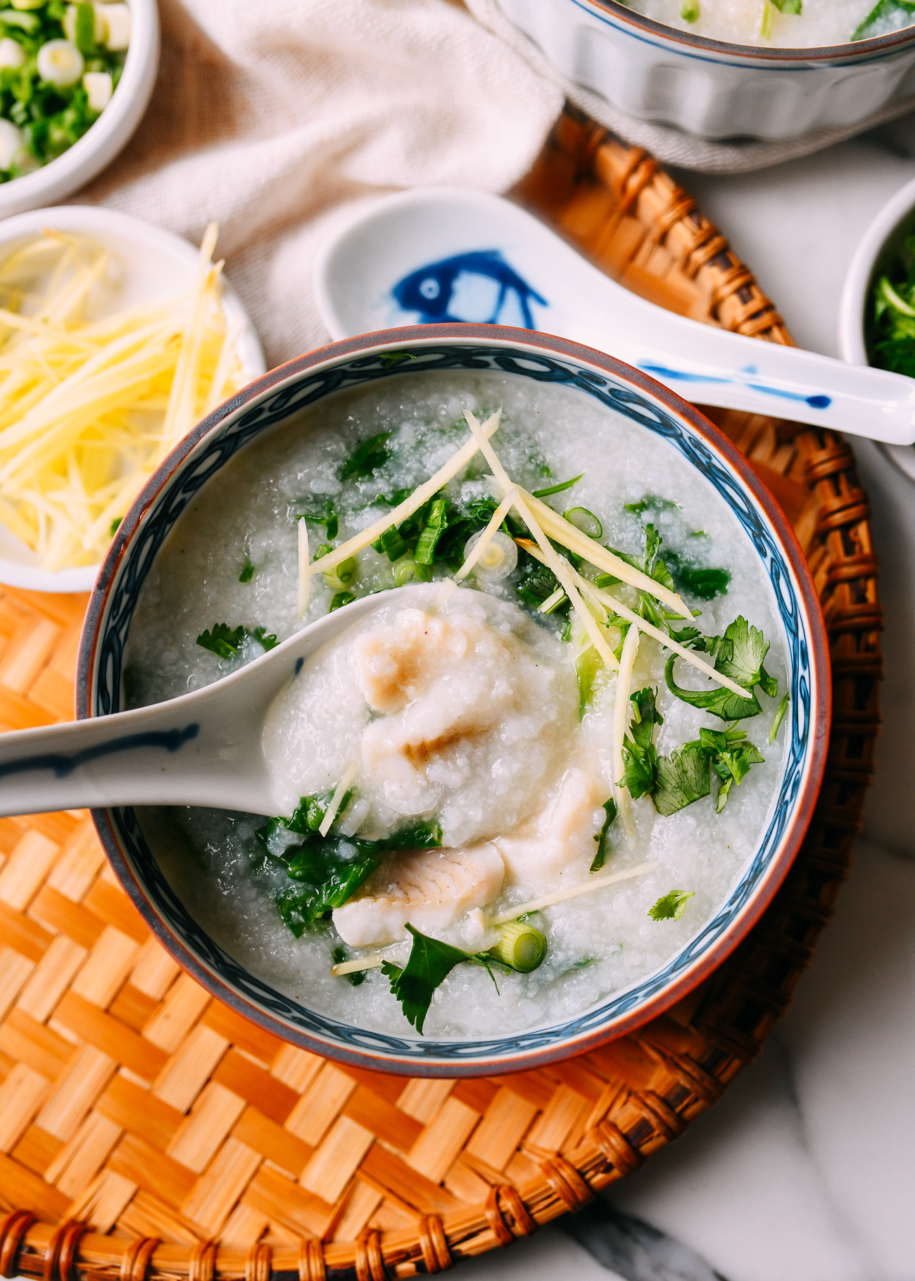 Fish Congee: In Just 20 Minutes! | The Woks of Life