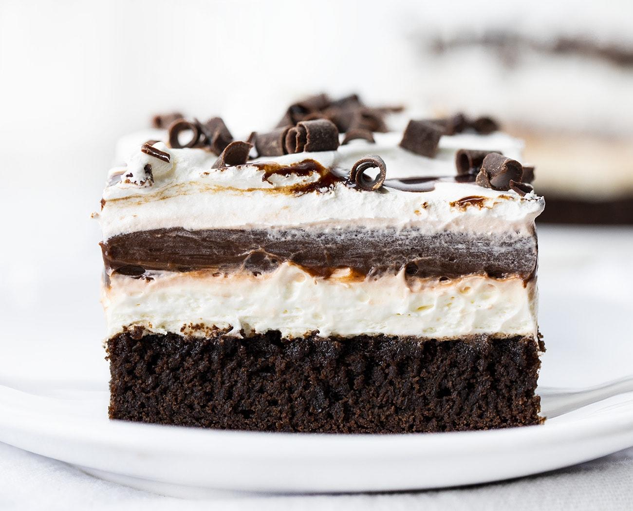 Brownie Pudding Dessert | i am baker
