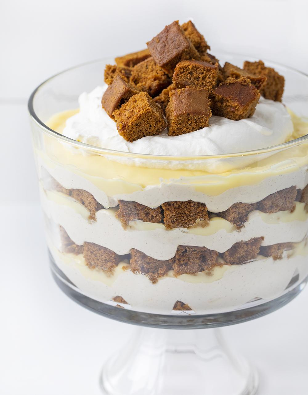 Gingerbread Trifle | i am baker