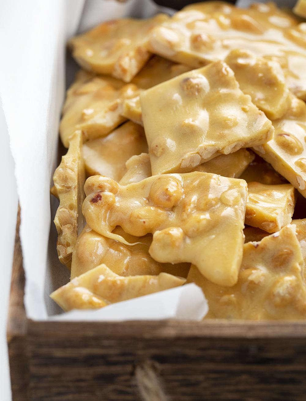 Classic Peanut Brittle | i am baker