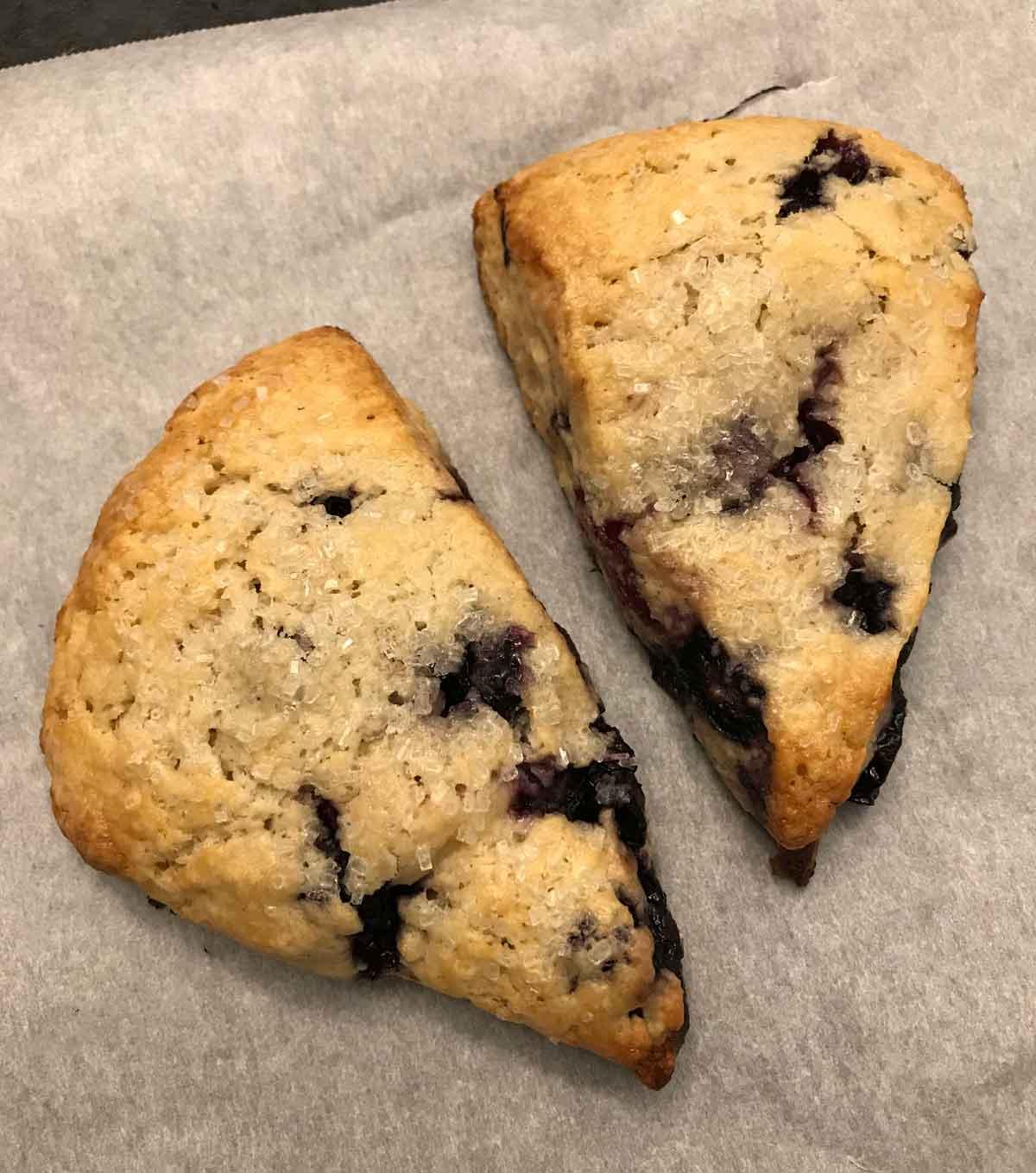 Sourdough Discard Scones - Cookie Madness