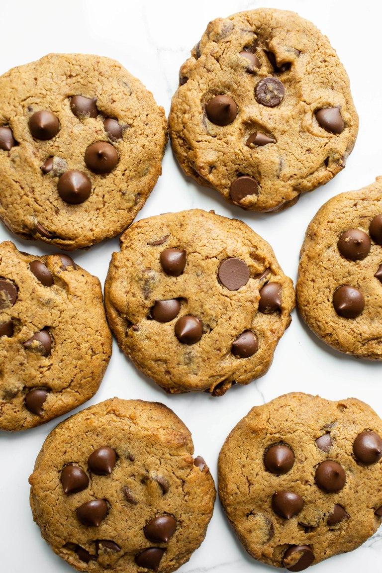 Best Vegan Gluten-Free Chocolate Chip Cookies