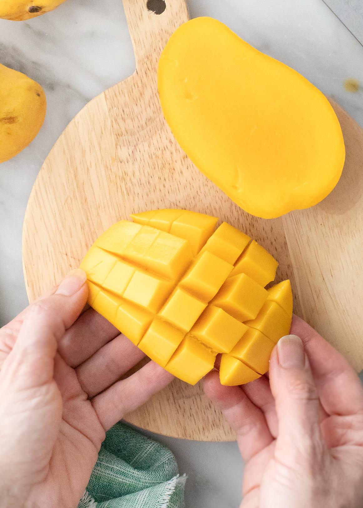 How to Cut a Mango - Love and Lemons