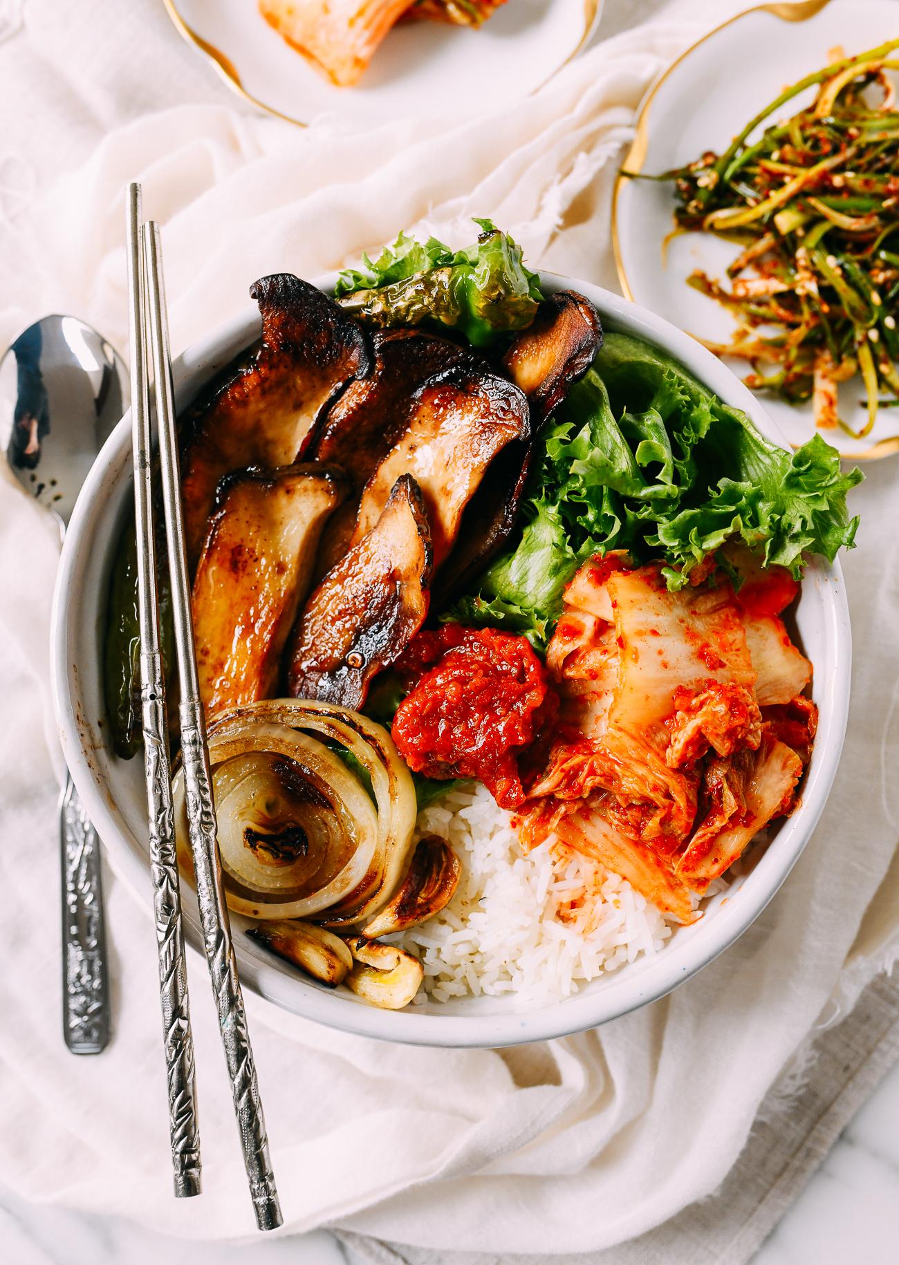 Vegan Korean BBQ