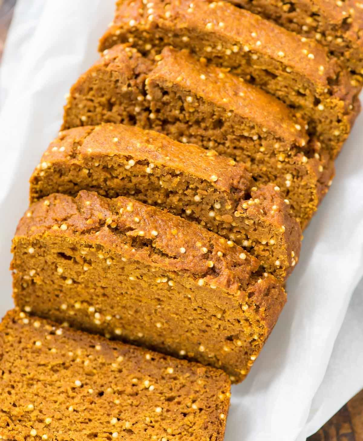 Healthy Pumpkin Bread {One Bowl Recipe!} - WellPlated.com