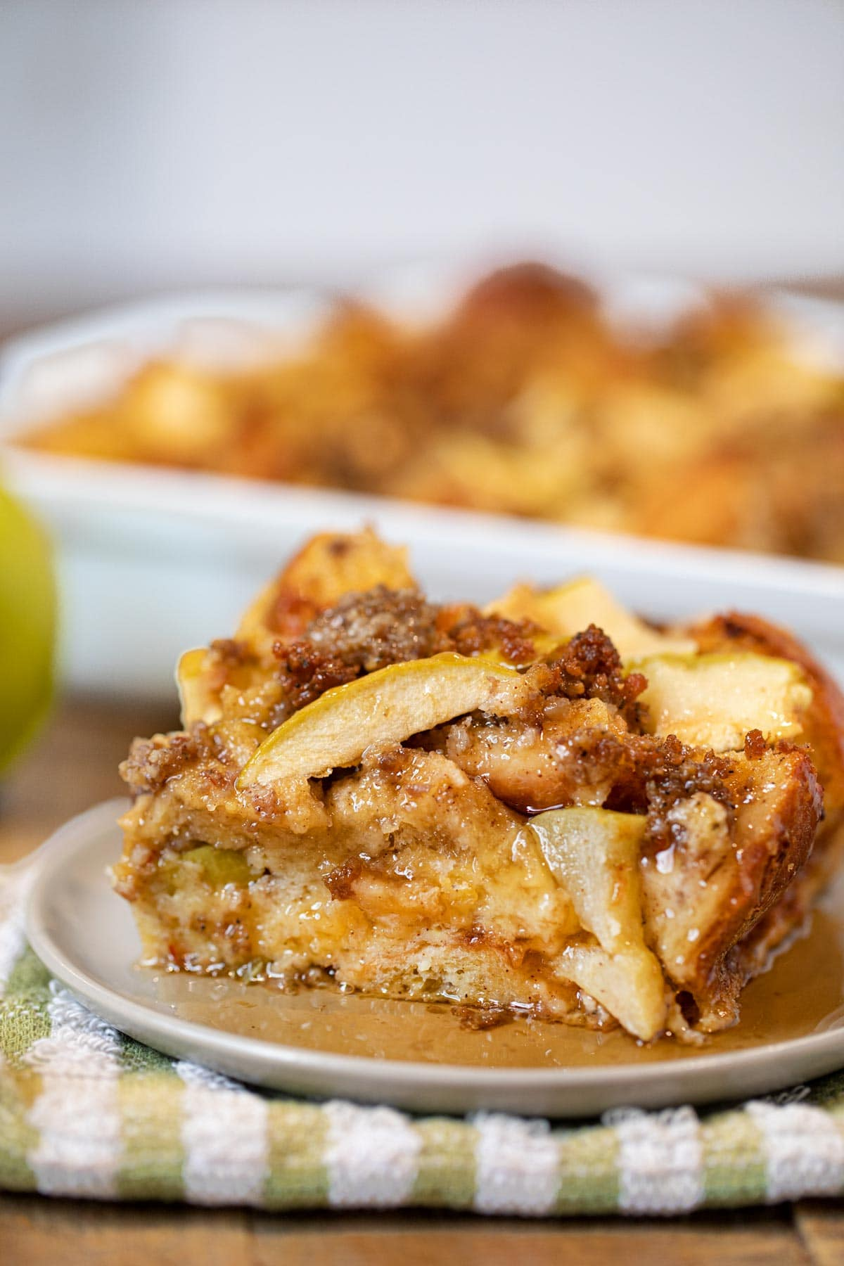 Sausage and Apple French Toast Bake Recipe- Dinner, then Dessert