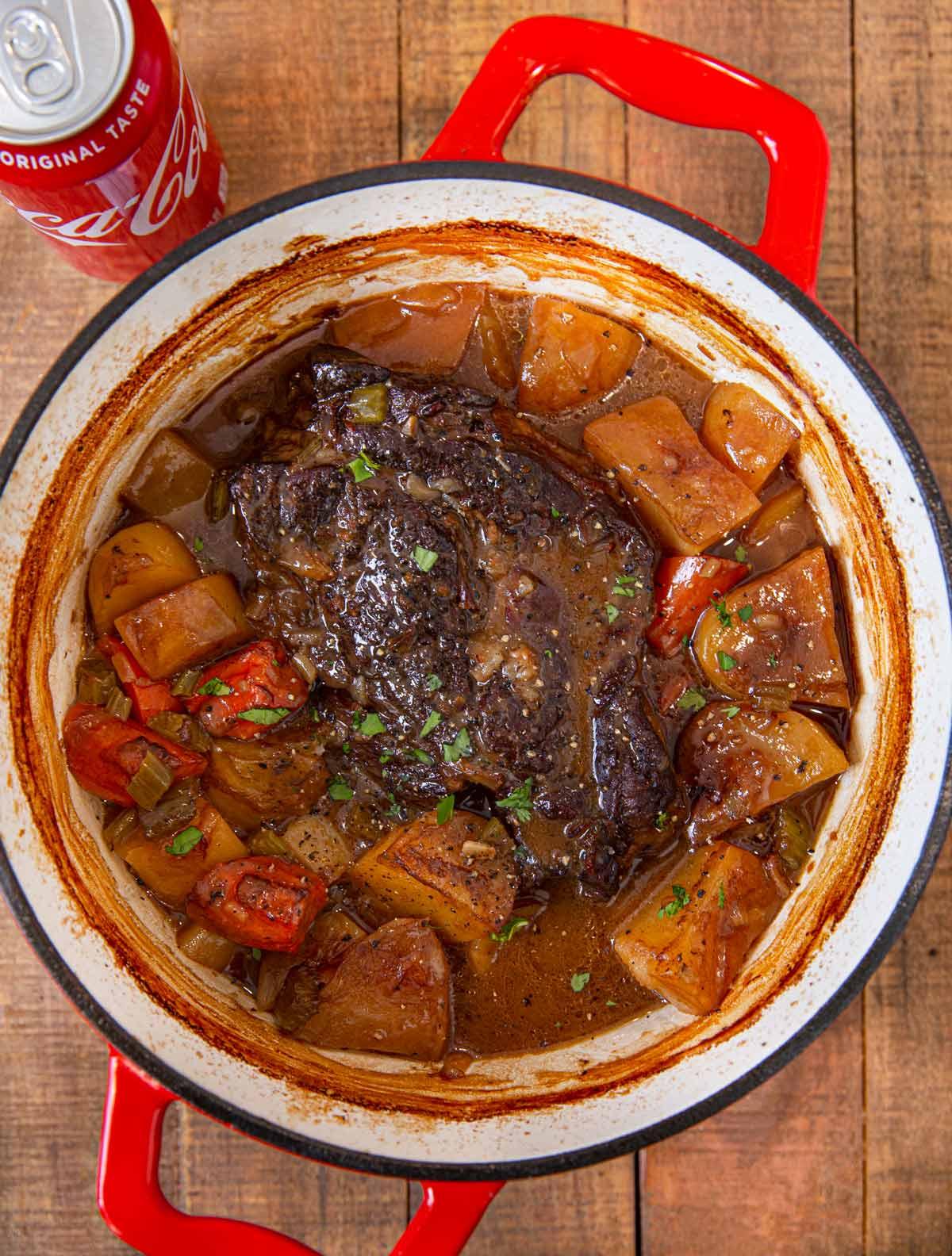 Super Tender Cola Pot Roast Recipe (So Easy!) - Dinner, then Dessert