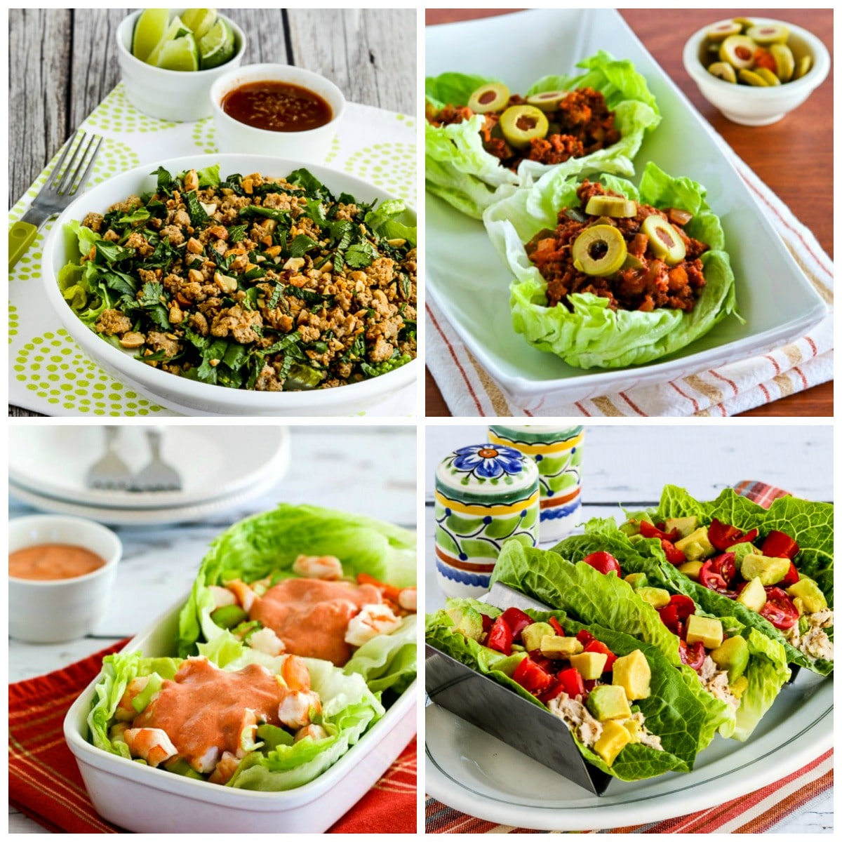 Low-Carb Lettuce Wraps  Kalyn