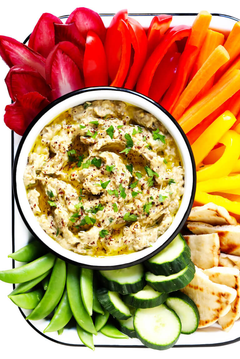 The BEST Baba Ganoush Recipe! | Gimme Some Oven