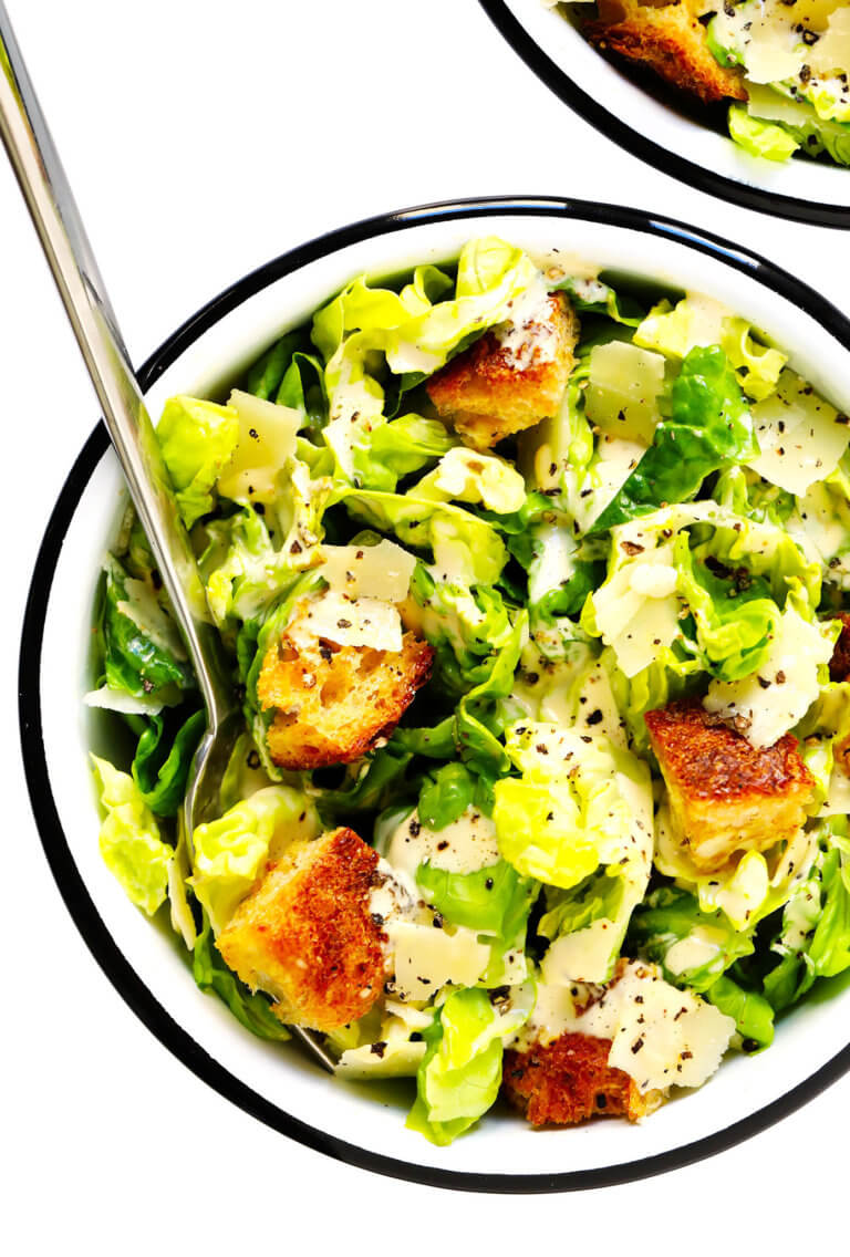 The BEST Caesar Salad Recipe! | Gimme Some Oven