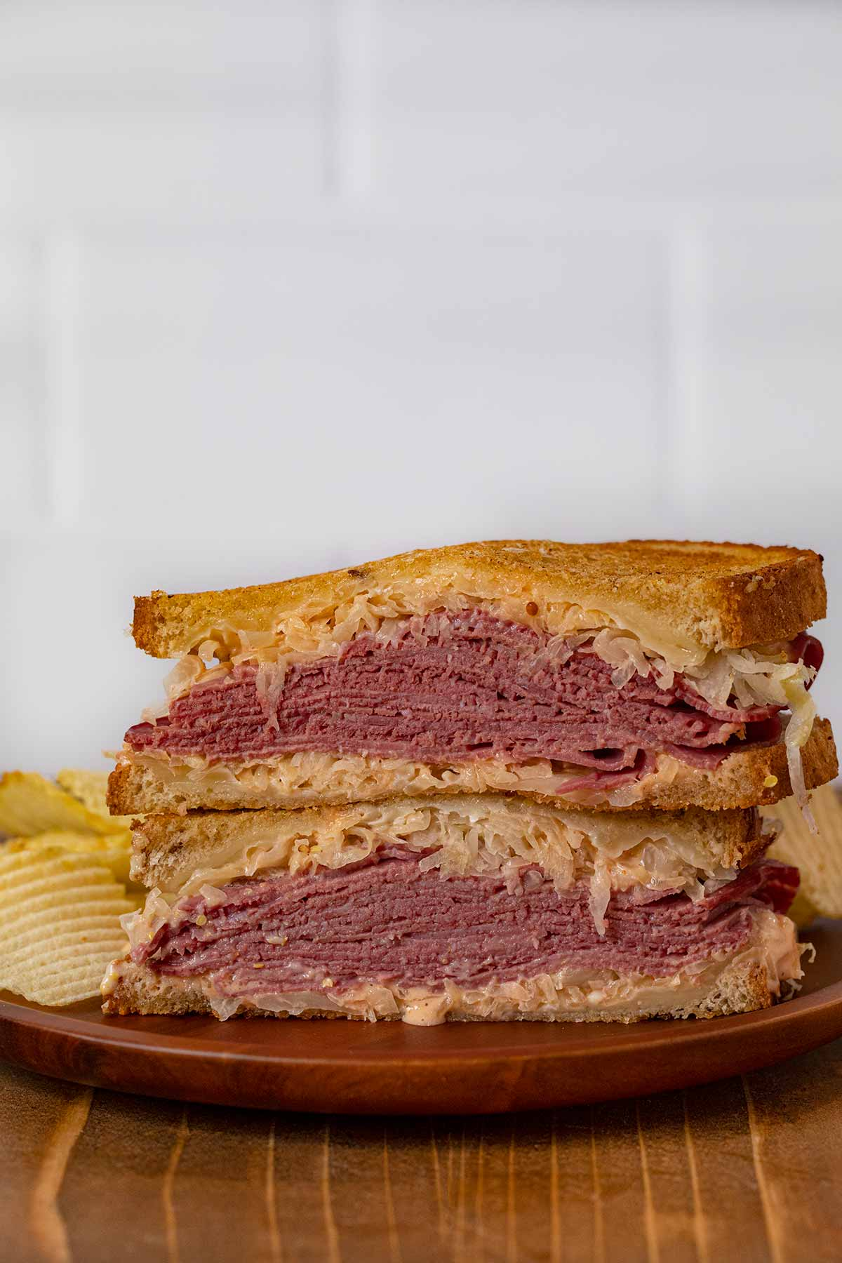 Reuben Sandwich Recipe - Dinner, then Dessert