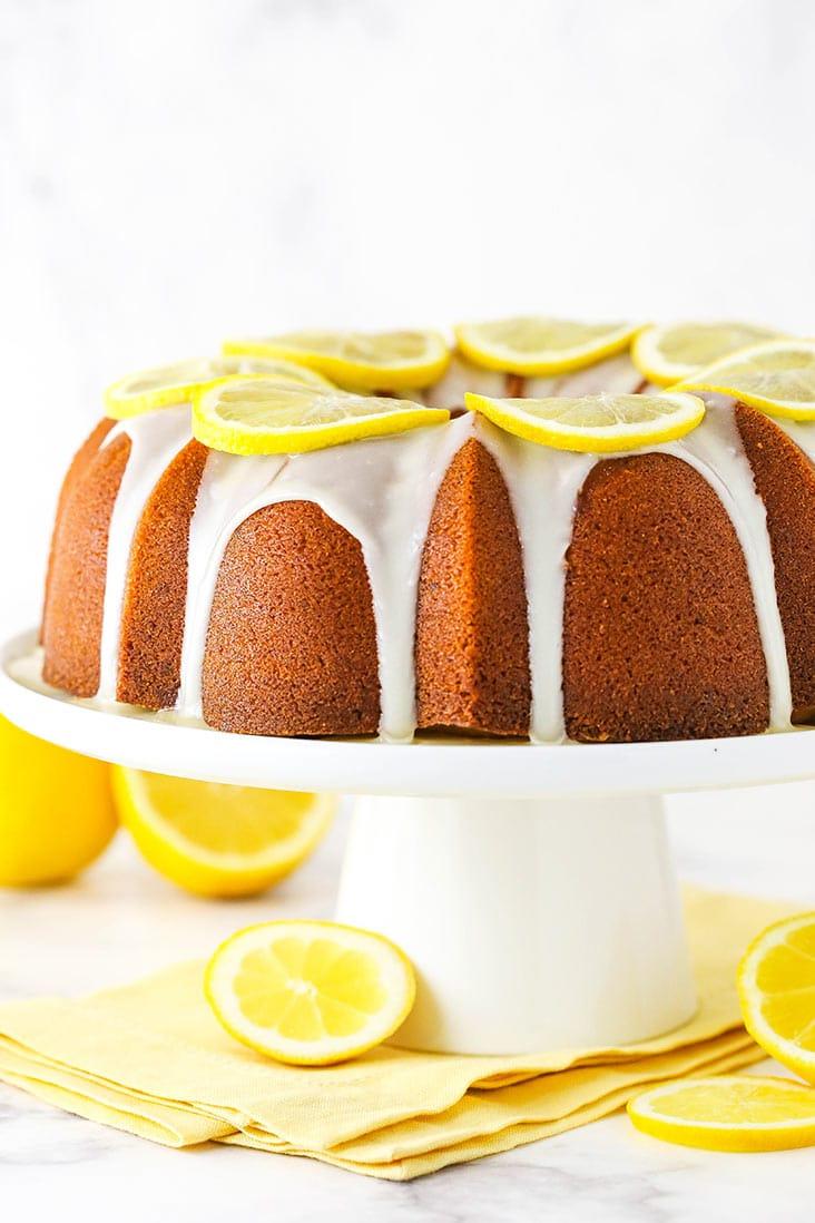 Lemon Pound Cake - The Lemon Lovers' Dream Dessert!