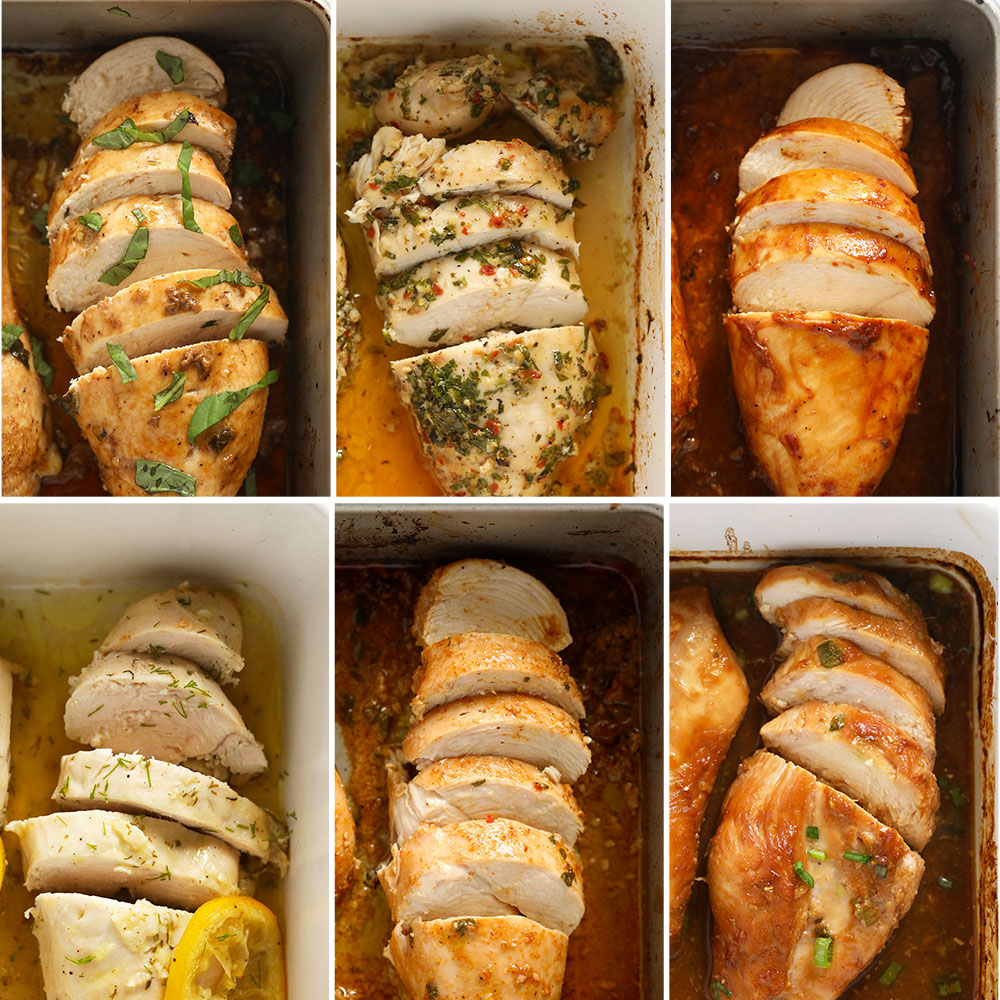 6 Baked Chicken Breast Recipes (Best Oven Baked Chicken Breast) - Fit Foodie Finds