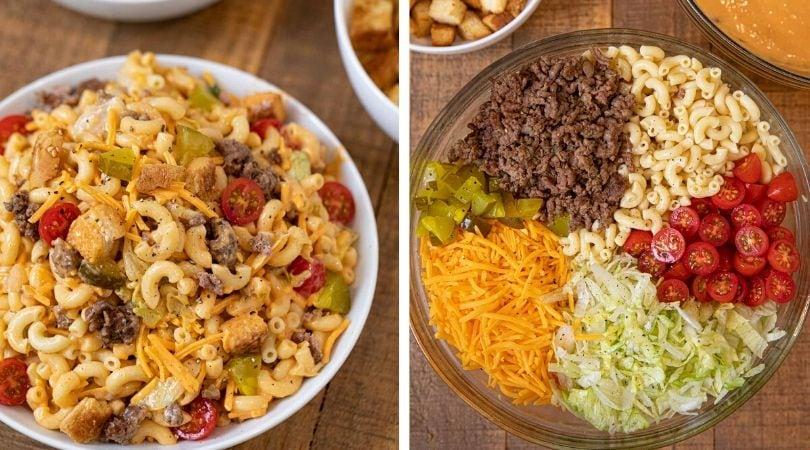Big Mac Pasta Salad Recipe - Dinner, then Dessert