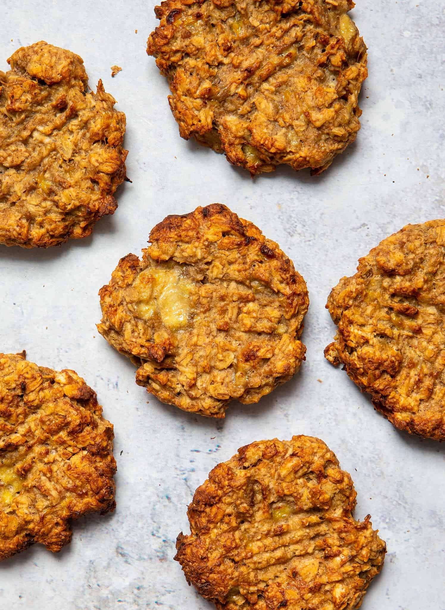 3 Ingredient Oat Cookies - Gluten-Free, Vegan, NO added sugar cookies!