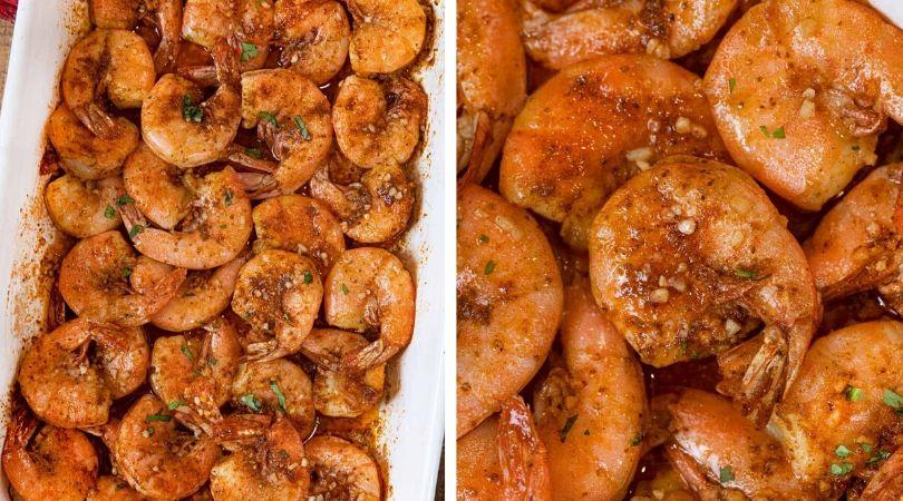 Old Bay Roasted Shrimp Recipe - Dinner, then Dessert