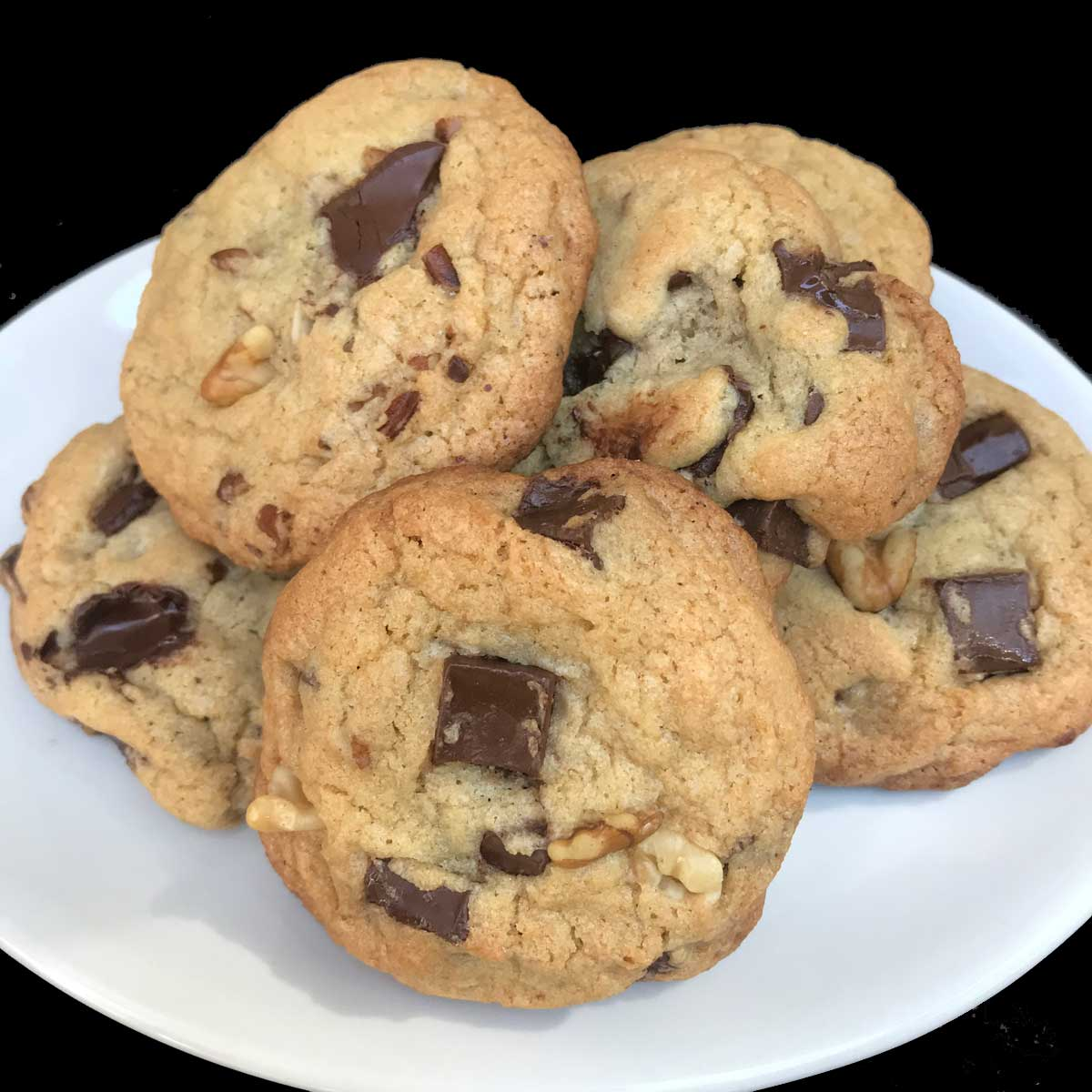 Light and Dark Brown Sugar Chocolate Chip Cookies - Cookie Madness