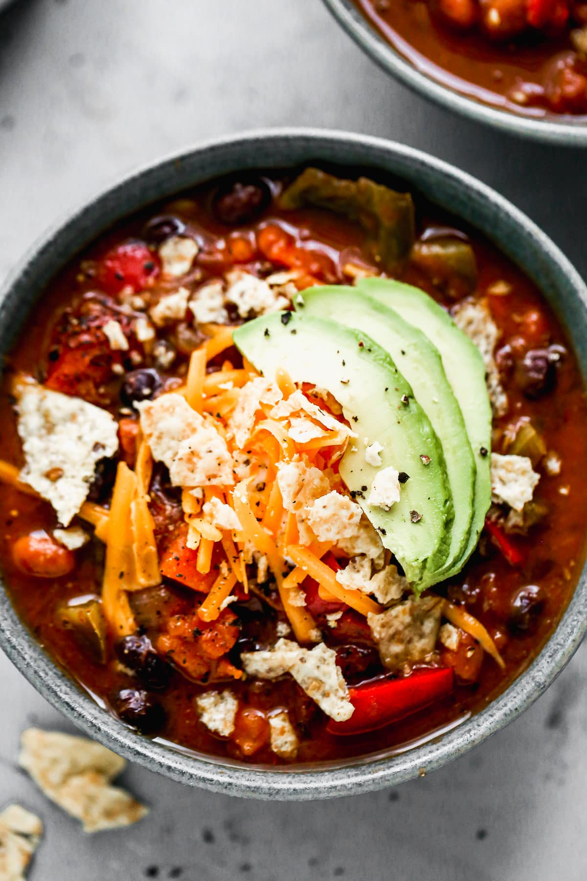 Vegetarian Chili {Easy From Scratch Recipe}  WellPlated.com