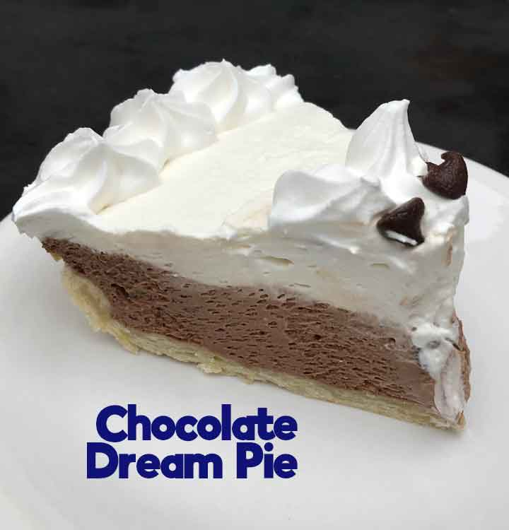 Chocolate Dream Pie - Cookie Madness