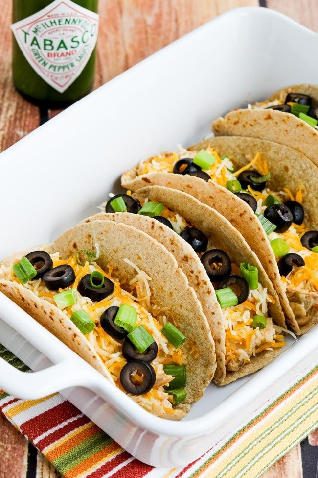 Instant Pot Cheesy Chicken Tacos (Video)  Kalyn's Kitchen