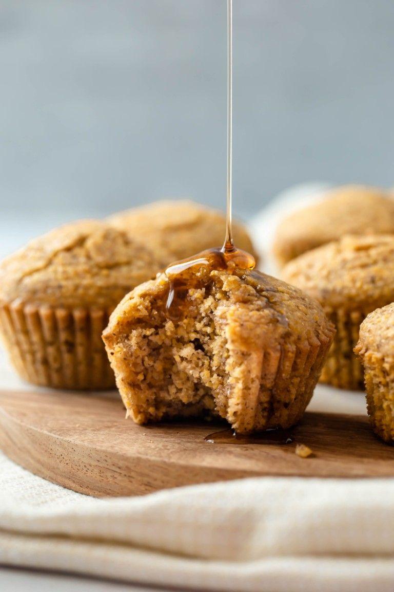 Vegan Cornbread Muffins (Gluten-free)