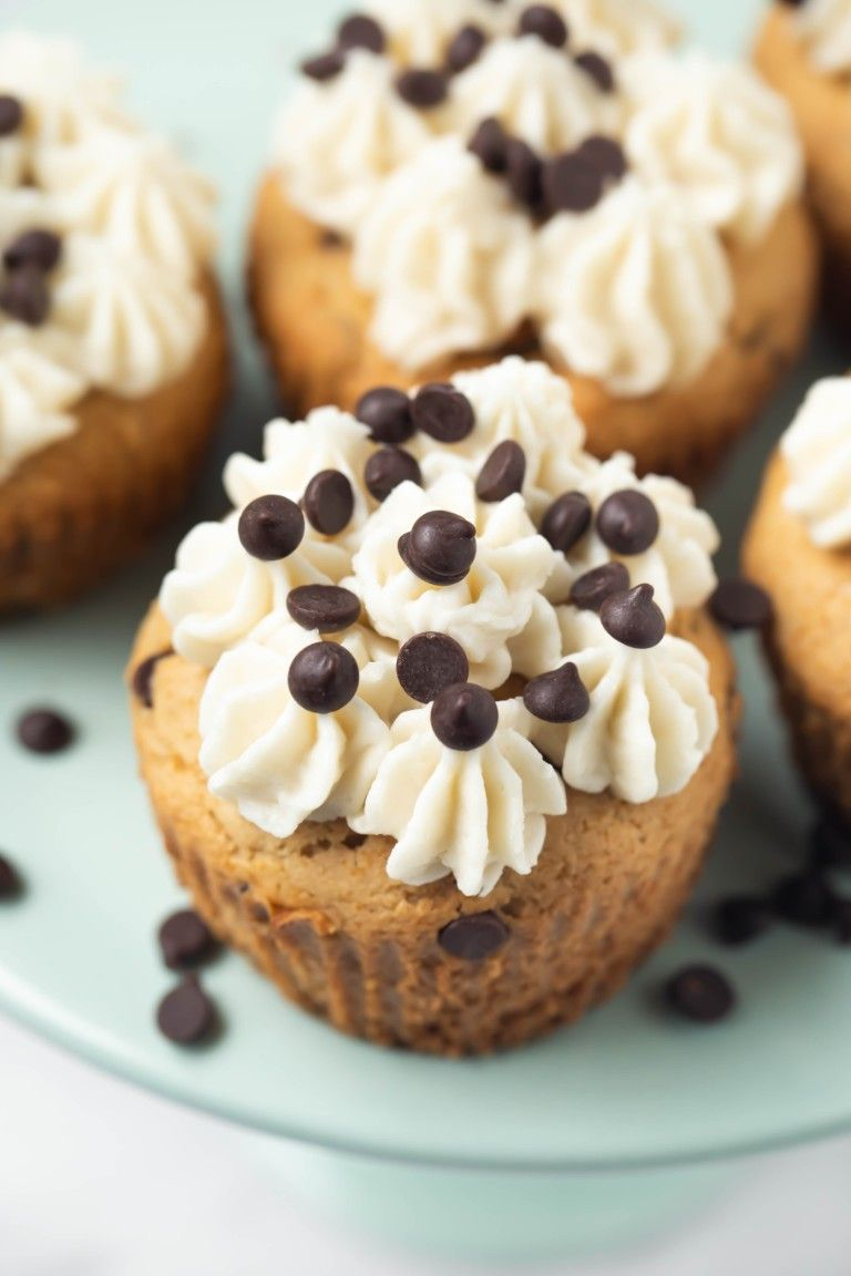 Vegan Chocolate Chip Cupcakes (Gluten-free)