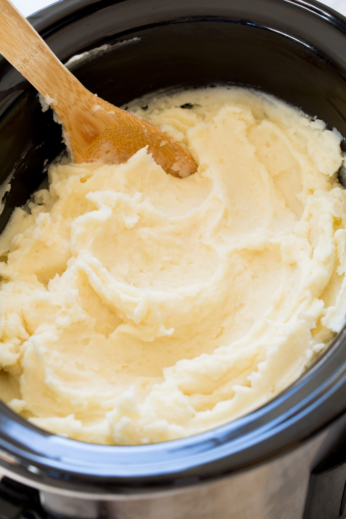 Crockpot Mashed Potatoes Recipe - Cooking Classy