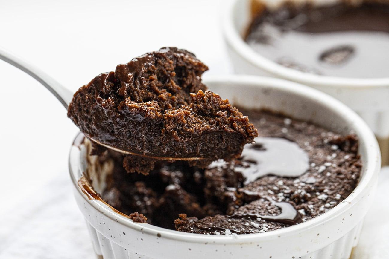 Chocolate Syrup Mug Cake | i am baker