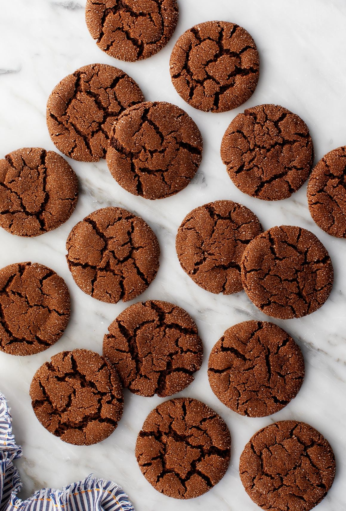 Chewy Molasses Cookies Recipe - Love and Lemons