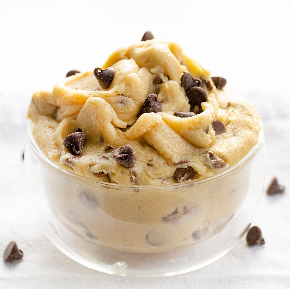Edible Cookie Dough | i am baker